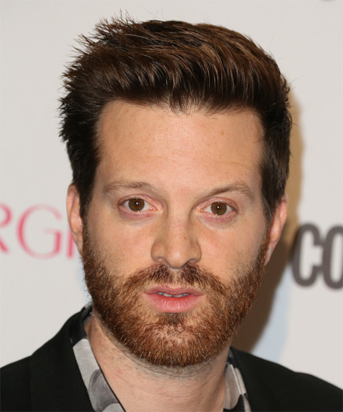 Mayer Hawthorne Short Straight Casual   Hairstyle   - Dark Brunette