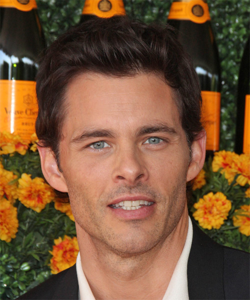 James Marsden Short Straight Casual   Hairstyle   (Chocolate)