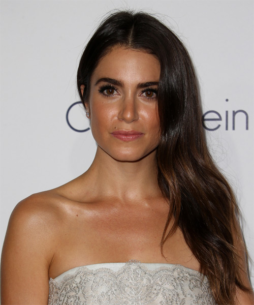 Nikki Reed Long Straight Casual   Hairstyle   (Mocha)