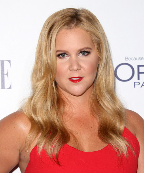 Amy Schumer Long Wavy Casual   Hairstyle   - Medium Blonde (Golden)