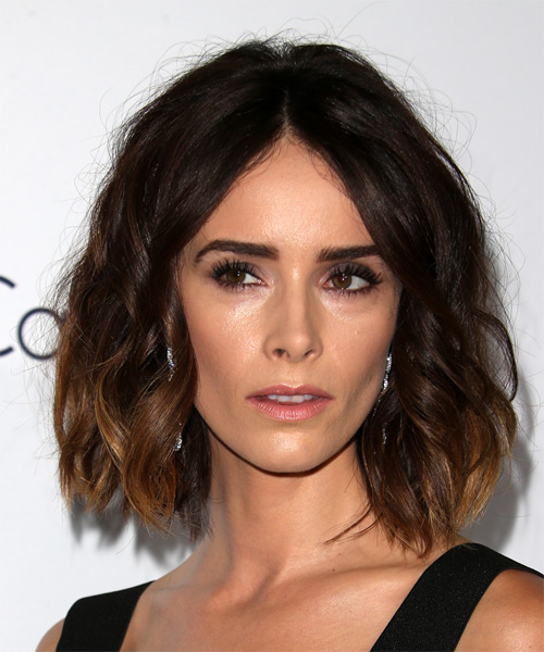 Abigail Spencer Medium Wavy Casual   Hairstyle