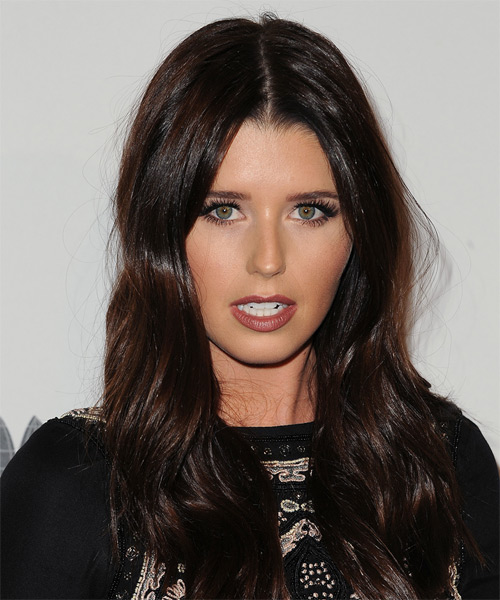 Katherine Schwarzenegger Long Straight Casual Hairstyle