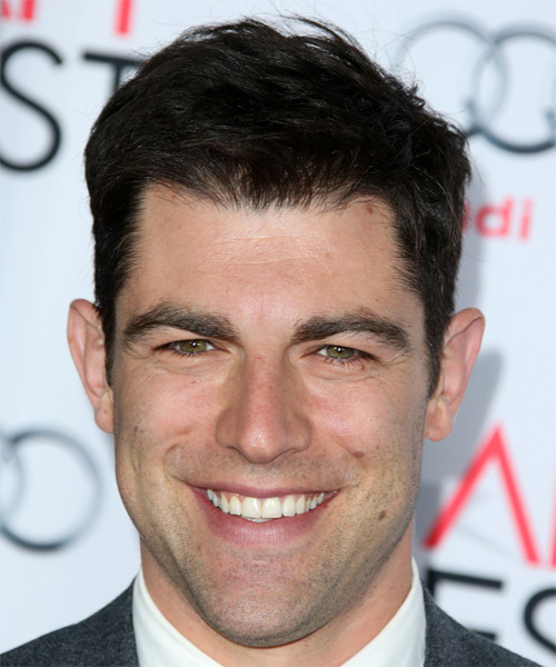 Max Greenfield Short Straight Casual   Hairstyle
