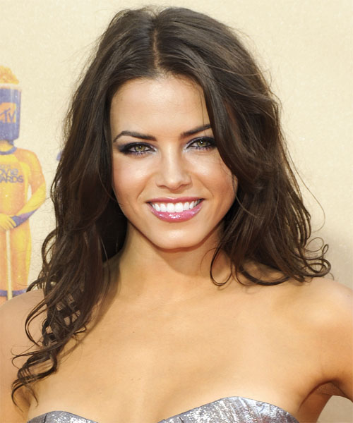 Jenna Dewan Long Wavy Formal    Hairstyle