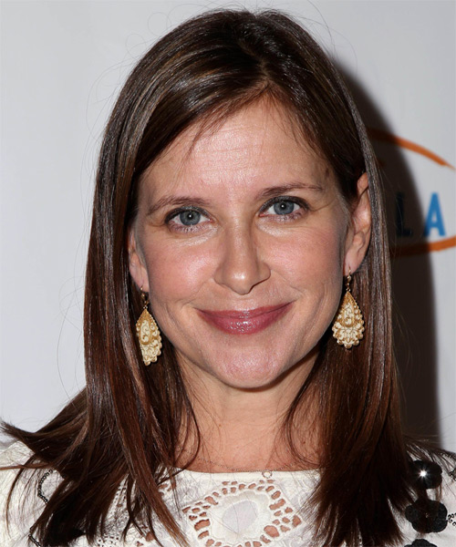 Kellie Martin Medium Straight Casual   Hairstyle