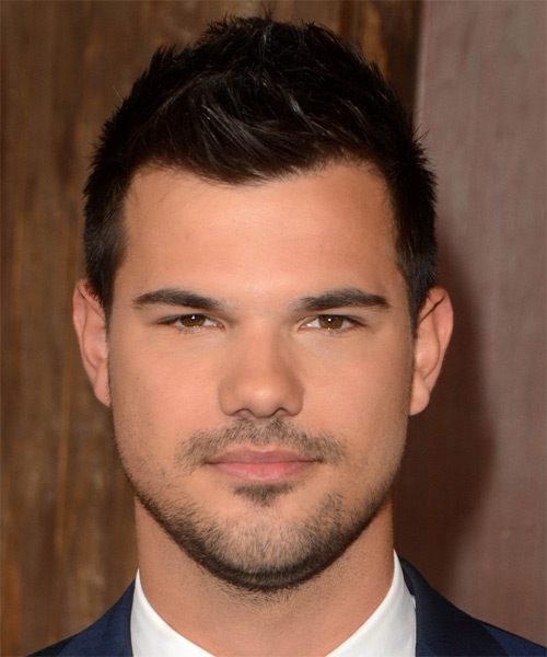 Taylor Lautner Short Straight Casual   Hairstyle
