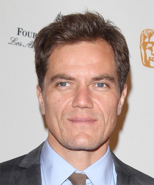 Michael Shannon Casual Short Straight Hairstyle Brunette