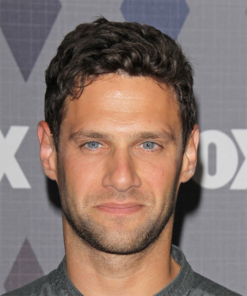 Justin Bartha Short Wavy Casual   Hairstyle