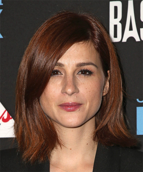 Aya Cash Medium Straight Casual Bob  Hairstyle
