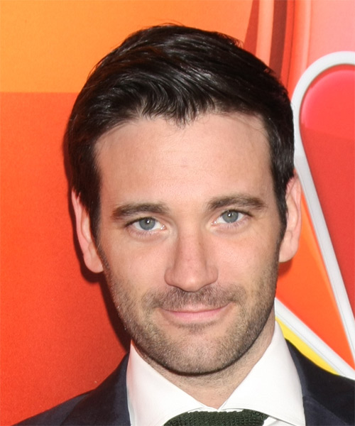 Colin Donnell Short Straight Formal   Hairstyle