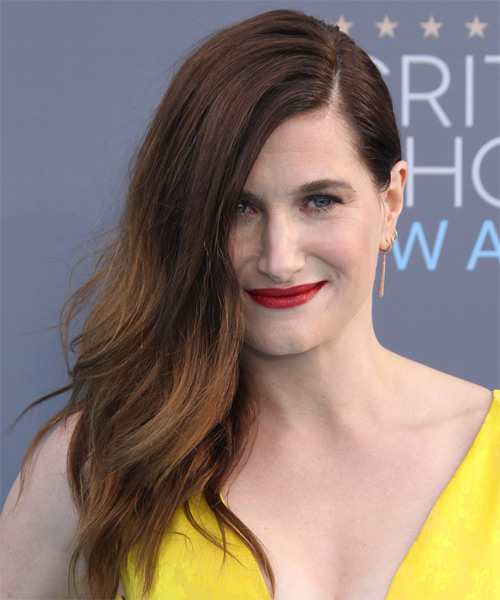 Kathryn Hahn Long Straight Casual   Hairstyle