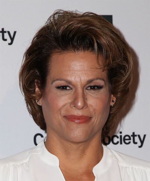 Alexandra Billings Short Straight Formal   Hairstyle
