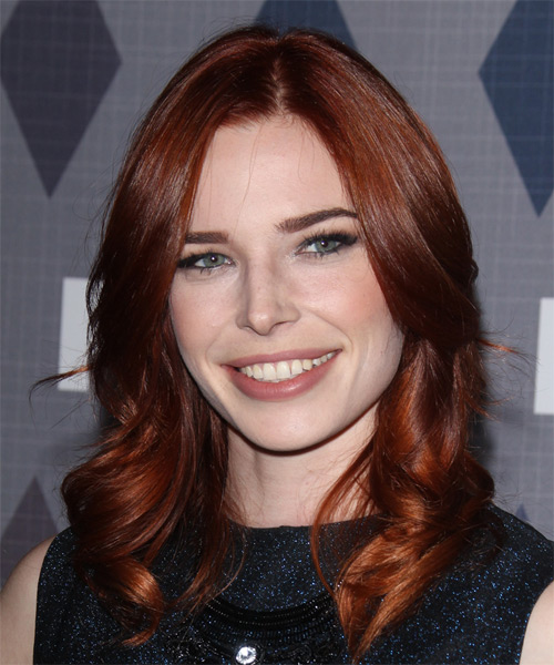 Chloe Dykstra Long Wavy Formal   Hairstyle