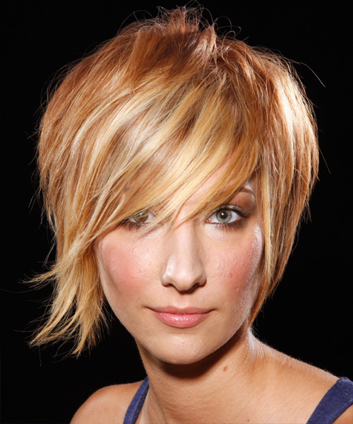 Short Straight Alternative    Hairstyle