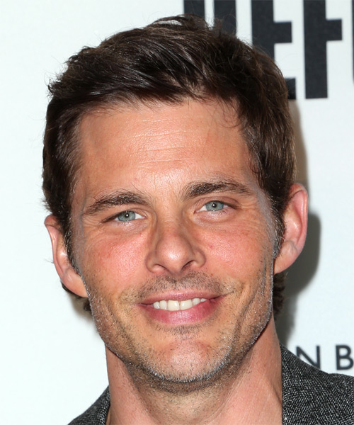 James Marsden Short Straight Casual   Hairstyle   - Medium Brunette