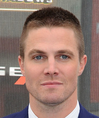 Stephen Amell Short Straight Casual    Hairstyle   - Light Brunette Hair Color