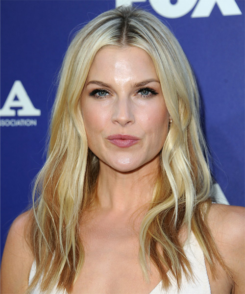 Ali Larter Long Straight Casual Hairstyle Light Blonde