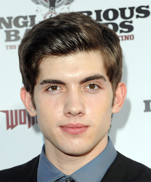 Carter Jenkins Short Straight Formal   Hairstyle
