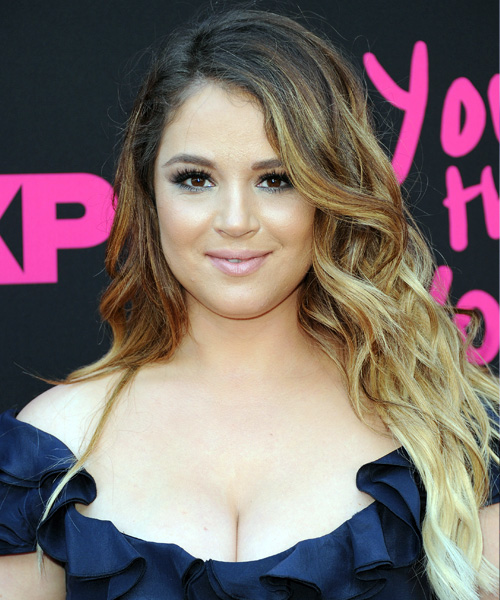 Kether Donohue Long Wavy Casual   Hairstyle   - Light Brunette