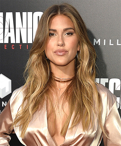 Kara Del Toro Long Wavy Casual   Hairstyle   - Medium Blonde