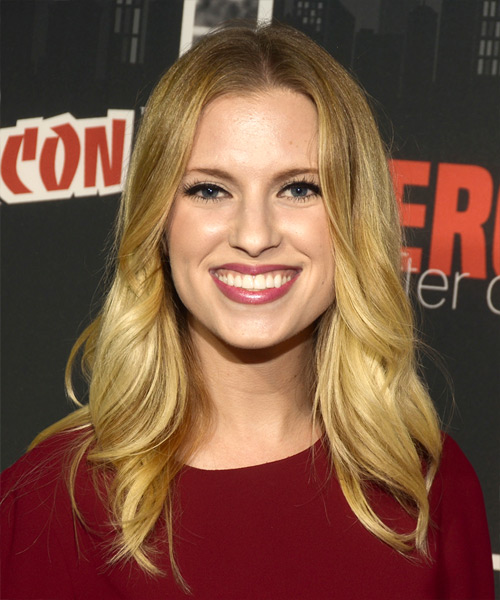Barbara Dunkelman Long Wavy Casual   Hairstyle   - Medium Blonde