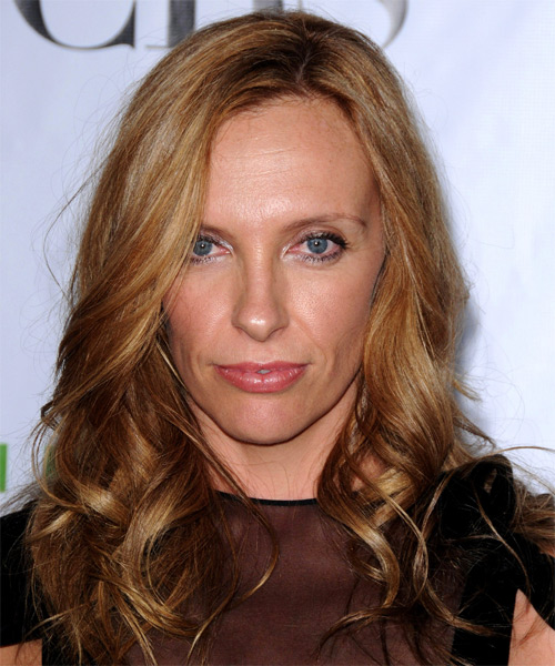 Toni Collette Long Wavy Formal   Hairstyle