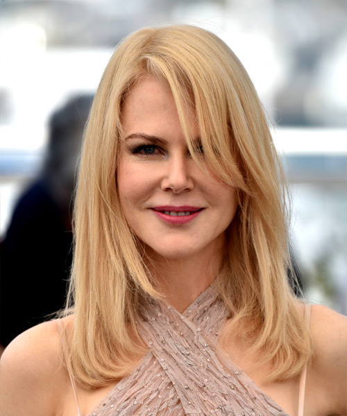 Nicole Kidman Long Straight Casual   Hairstyle