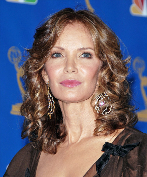 Jaclyn Smith Long Wavy Formal   Hairstyle