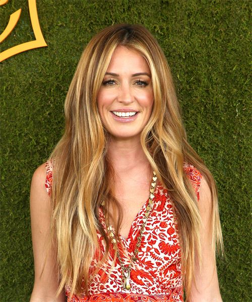 Cat Deeley Long Straight   Dark Blonde   Hairstyle