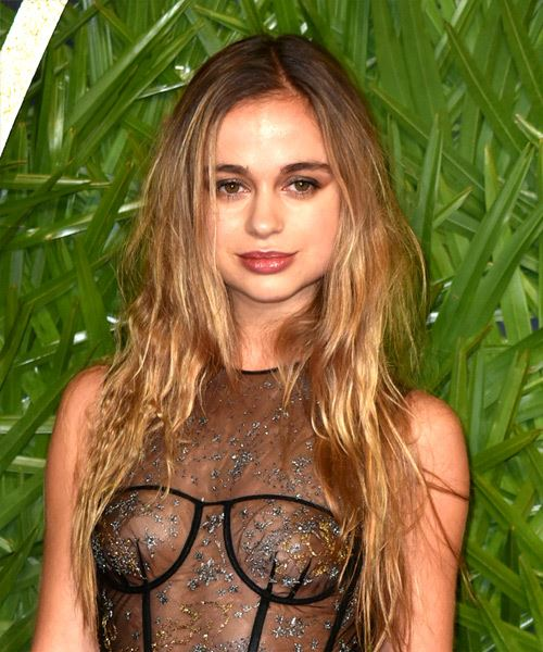 Amelia Windsor Long Wavy Casual    Hairstyle   - Dark Blonde Hair Color