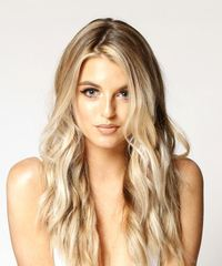 Long Wavy   Light Blonde   Hairstyle