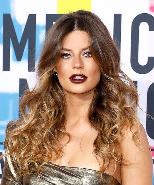 Hannah Stocking Long Wavy Casual   Hairstyle   - Medium Brunette