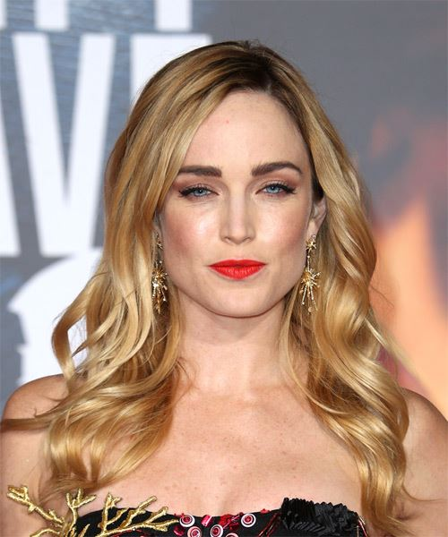 Caity Lotz Long Wavy   Dark Blonde   Hairstyle
