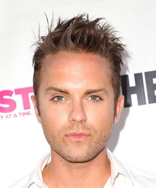 Thomas Dekker Short Wavy Casual    Hairstyle   - Dark Blonde Hair Color
