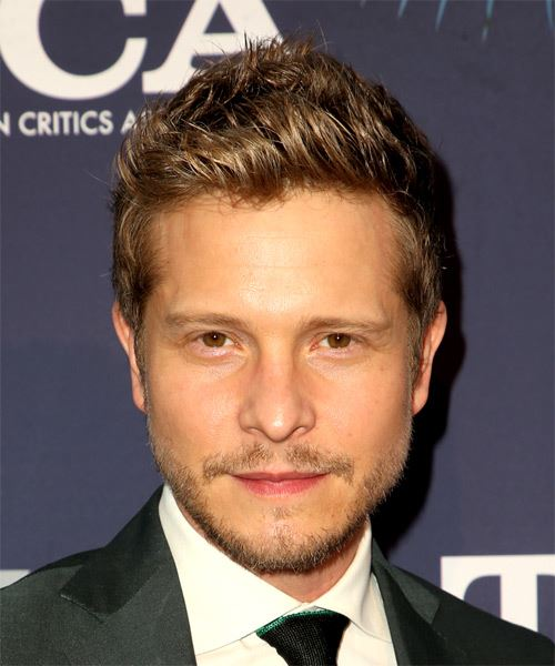 Matt Czuchry Short Straight Formal    Hairstyle   -  Brunette Hair Color