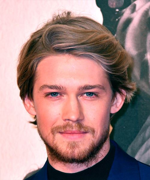 Joe Alwyn Short Straight Mermaid Waves