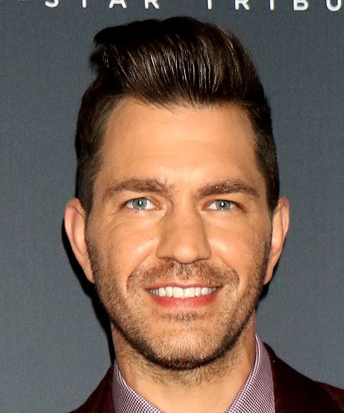 Andy Grammer Short Straight   Black    Hairstyle
