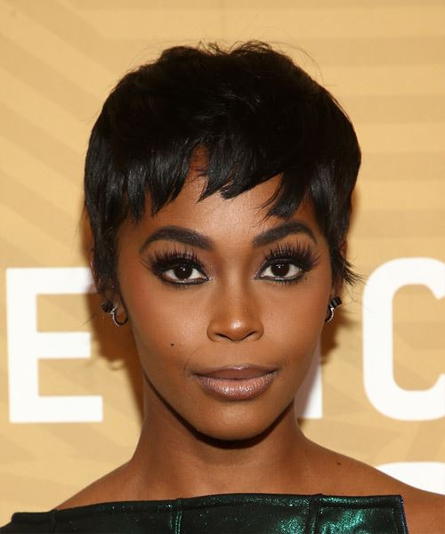 Nafessa Williams     Black  Pixie  Cut