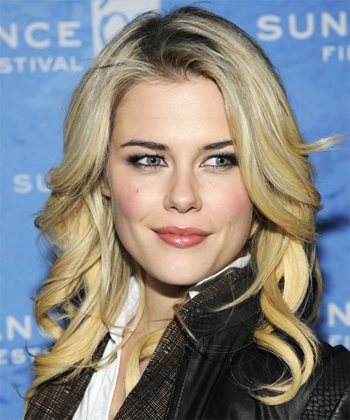 Rachael Taylor Long Wavy Formal   Hairstyle