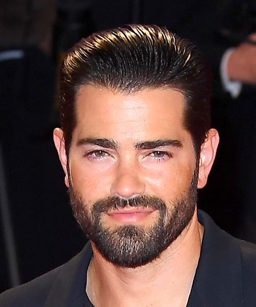 Jesse Metcalfe Short Straight   Black    Hairstyle