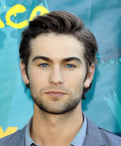 Chase Crawford Short Straight Formal   Hairstyle
