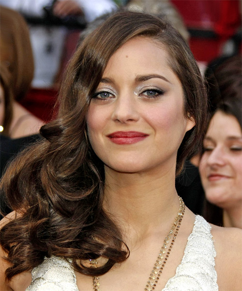 Marion Cotillard Long Wavy Formal   Hairstyle