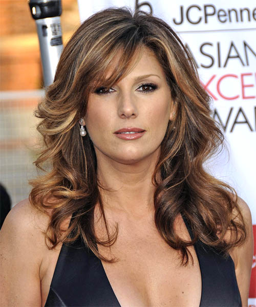 Daisy Fuentes Long Wavy Formal    Hairstyle