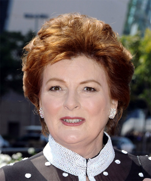 Brenda Blethyn Short Straight Formal   Hairstyle