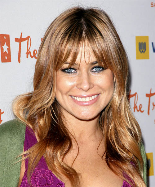 Carmen Electra Long Wavy Casual   Hairstyle