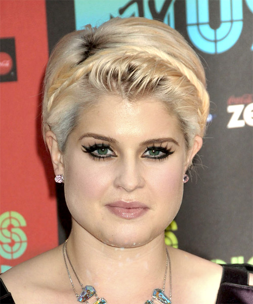 Kelly Osbourne Short Straight Formal   Hairstyle