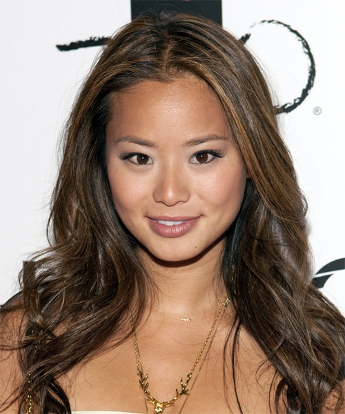 Jamie Chung Long Straight Casual   Hairstyle