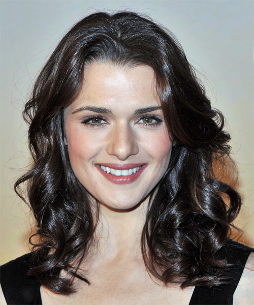 Rachel Weisz Long Wavy Formal   Hairstyle