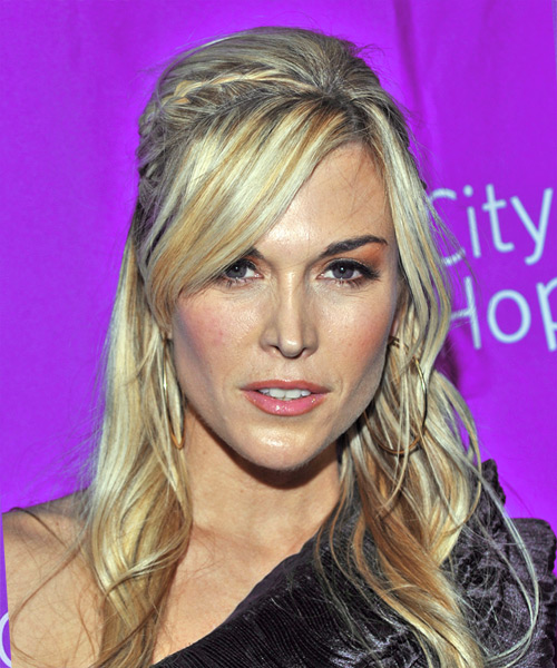 Tinsley Mortimer Updo Long Straight Formal  Updo Hairstyle