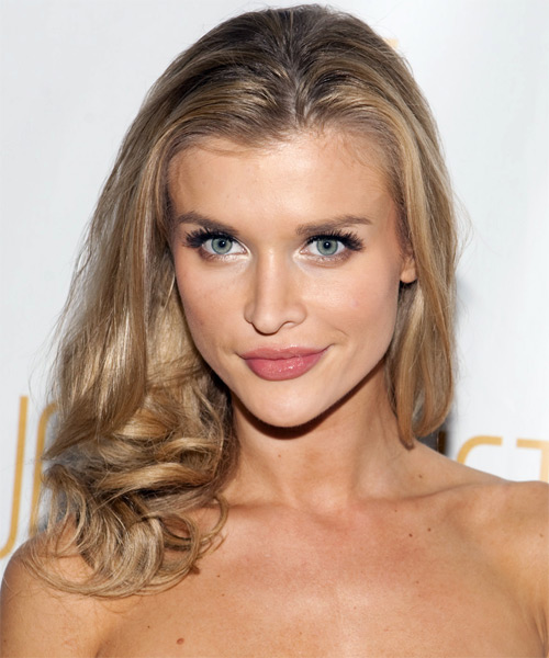 Joanna Krupa Long Wavy Formal    Hairstyle